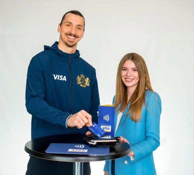 Zlatan Ibrahimović vuelve a la Copa Mundial de la FIFA Rusia 2018™ junto a Visa