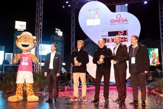 Omega, cronometrador oficial de los Juegos Olímpicos comenzó la cuenta regresiva con un evento VIP en Buenos Aires