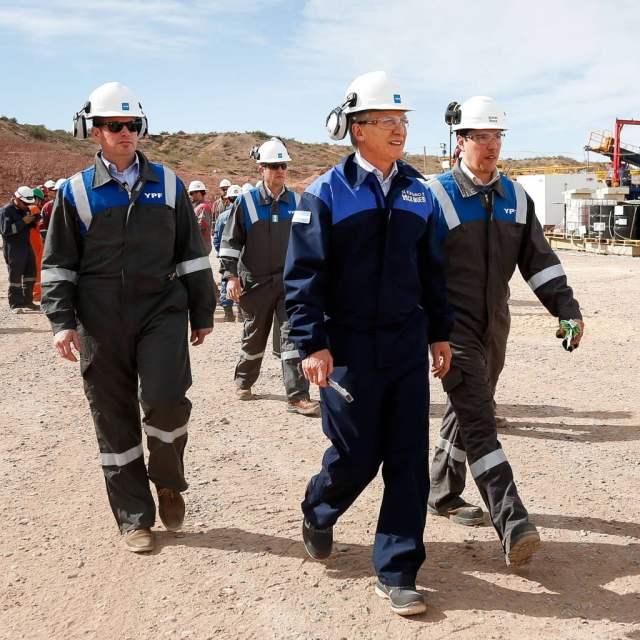 """Macri: """"No vamos a parar hasta que desde Vaca Muerta exportemos 30.000 millones de dólares en gas y petróleo"""""""