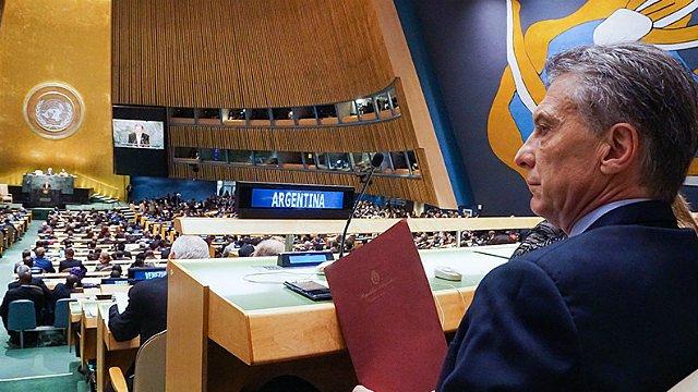 Macri viaja a EE.UU. a participar de la Asamblea de Naciones Unidas