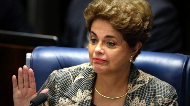 Corte electoral confirma el derecho de Dilma Rousseff a ser candidata al Senado brasileño
