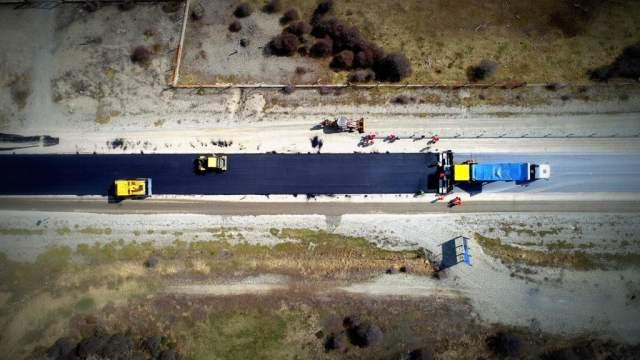 Se reactivaron más de 1200 kilómetros de obras viales en la Patagonia