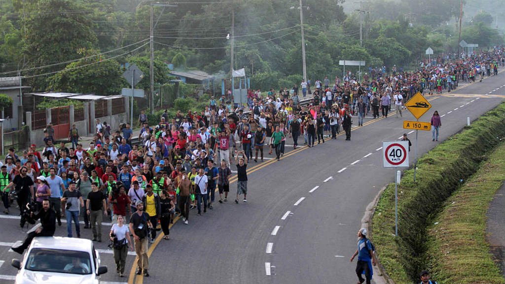 Several Thousand Hondurans Have Begun the Journey Toward United State