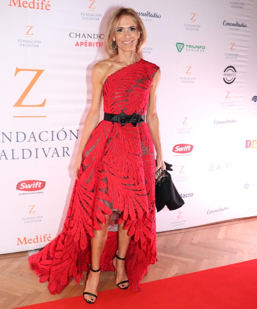 Rossella della Giovampaola en la Gala Anual a beneficio de Fundación Zaldivar