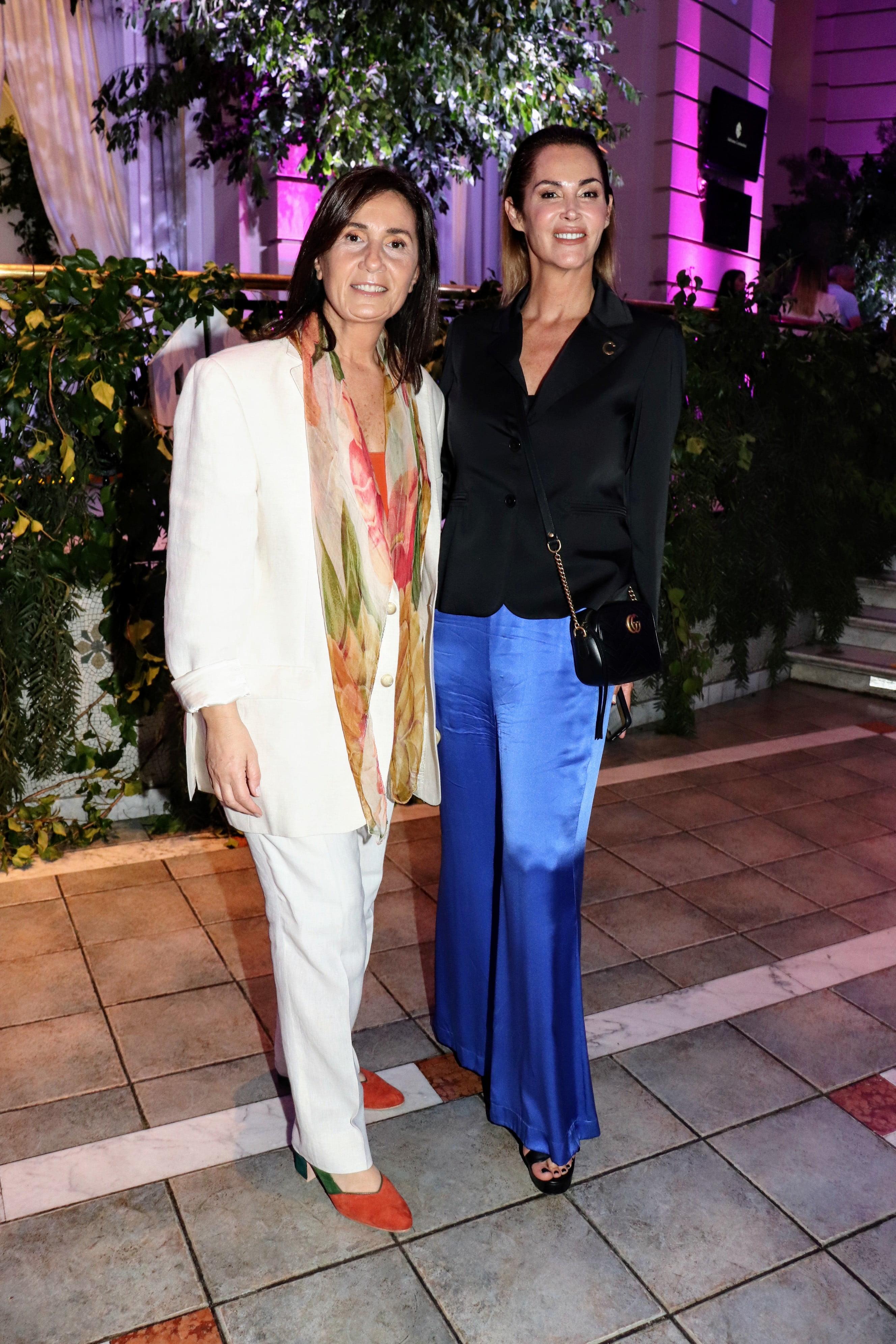 Andrea Garmendia y María Giannone en el Hipódromo de Palermo