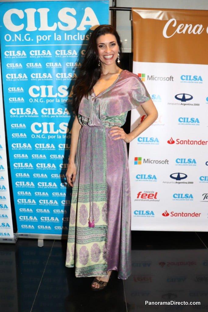 Verónica Perdomo en la Cena Anual Solidaria de CILSA