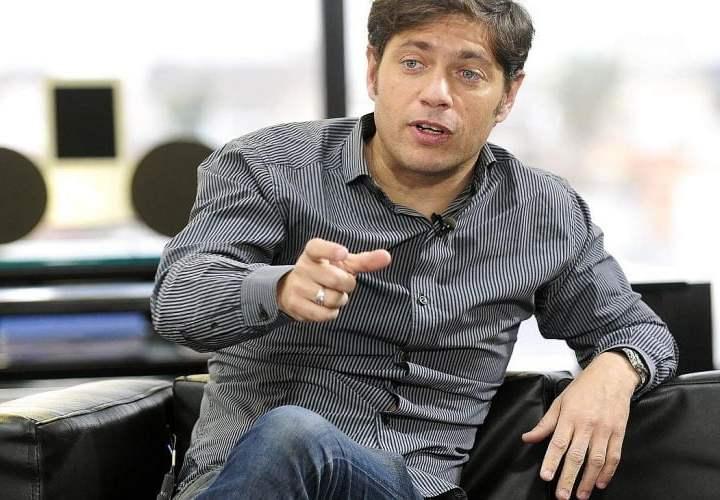 Kicillof criticó la política económica de Macri