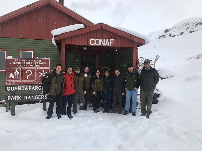 Primer encuentro técnico de  Parques Nacionales Conjuntos de  Argentina y Chile
