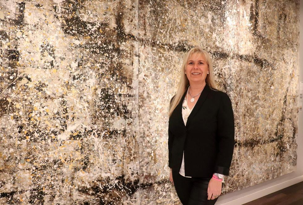 Mónica Tiezzi presentó su obra «Regresando a la fuente» en Casa Foa 2019