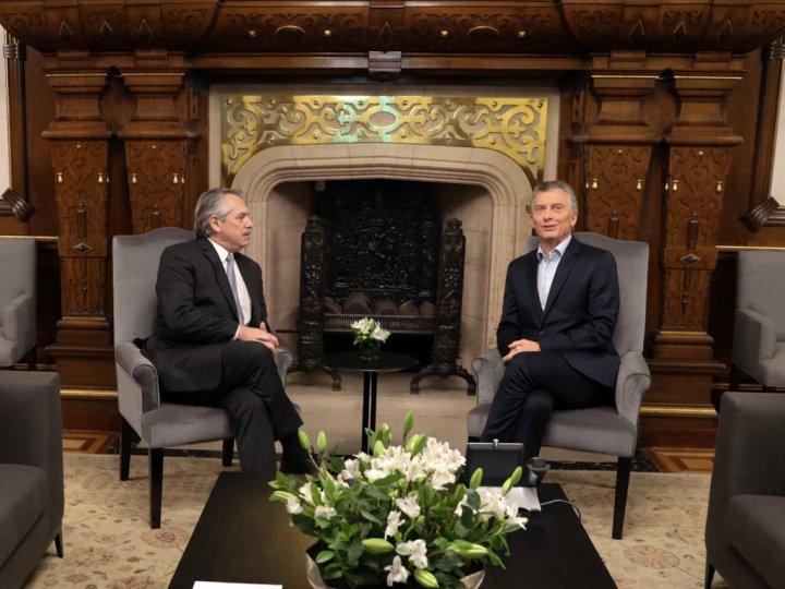 El desayuno entre Alberto Fernández y Mauricio Macri
