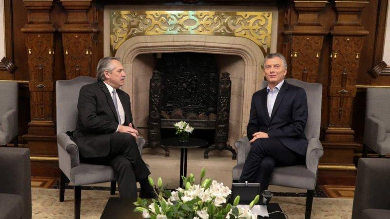 Mauricio Macri desayunó con su sucesor Alberto Fernández en el inicio de la transición