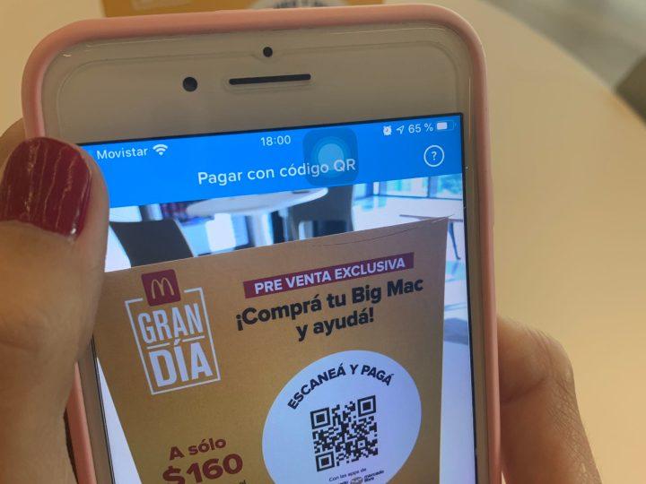 Récord de recaudación en la preventa Big Mac a través de Mercado Pago
