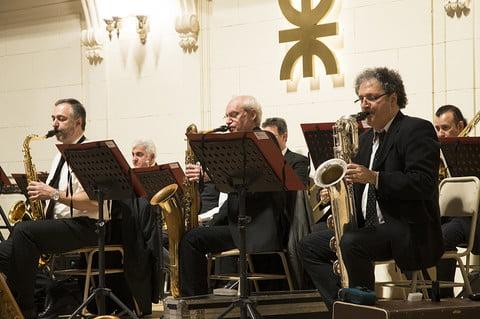 Concierto de la Banda Sinfónica en la UTN.BA