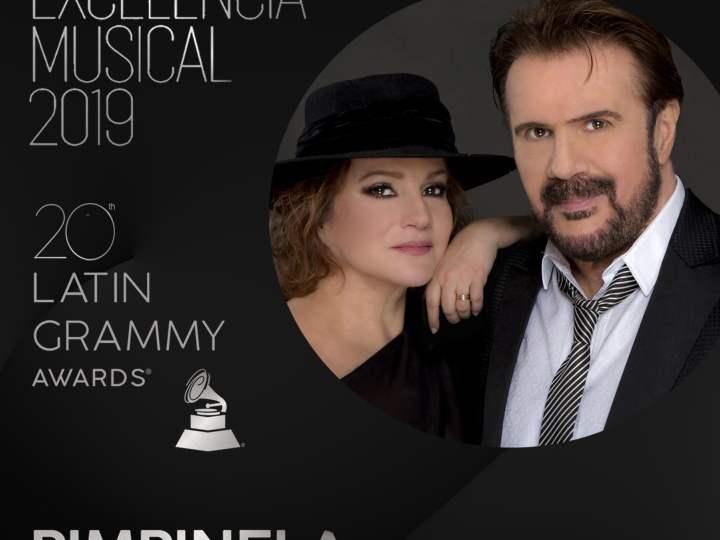 Pimpinela recibe el Premio a la Excelencia Musical de la Academia Latina de Grabación (Latin Grammy)