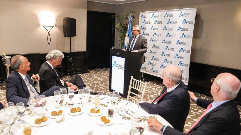 El Presidente se reunió con representantes de la Asociación Empresaria Argentina