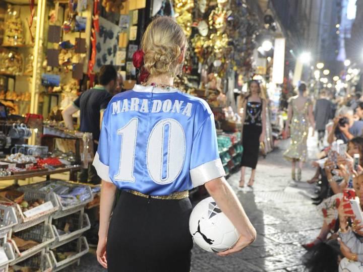 Dolce & Gabbana deberá resarcir a Maradona por el uso abusivo de su nombre