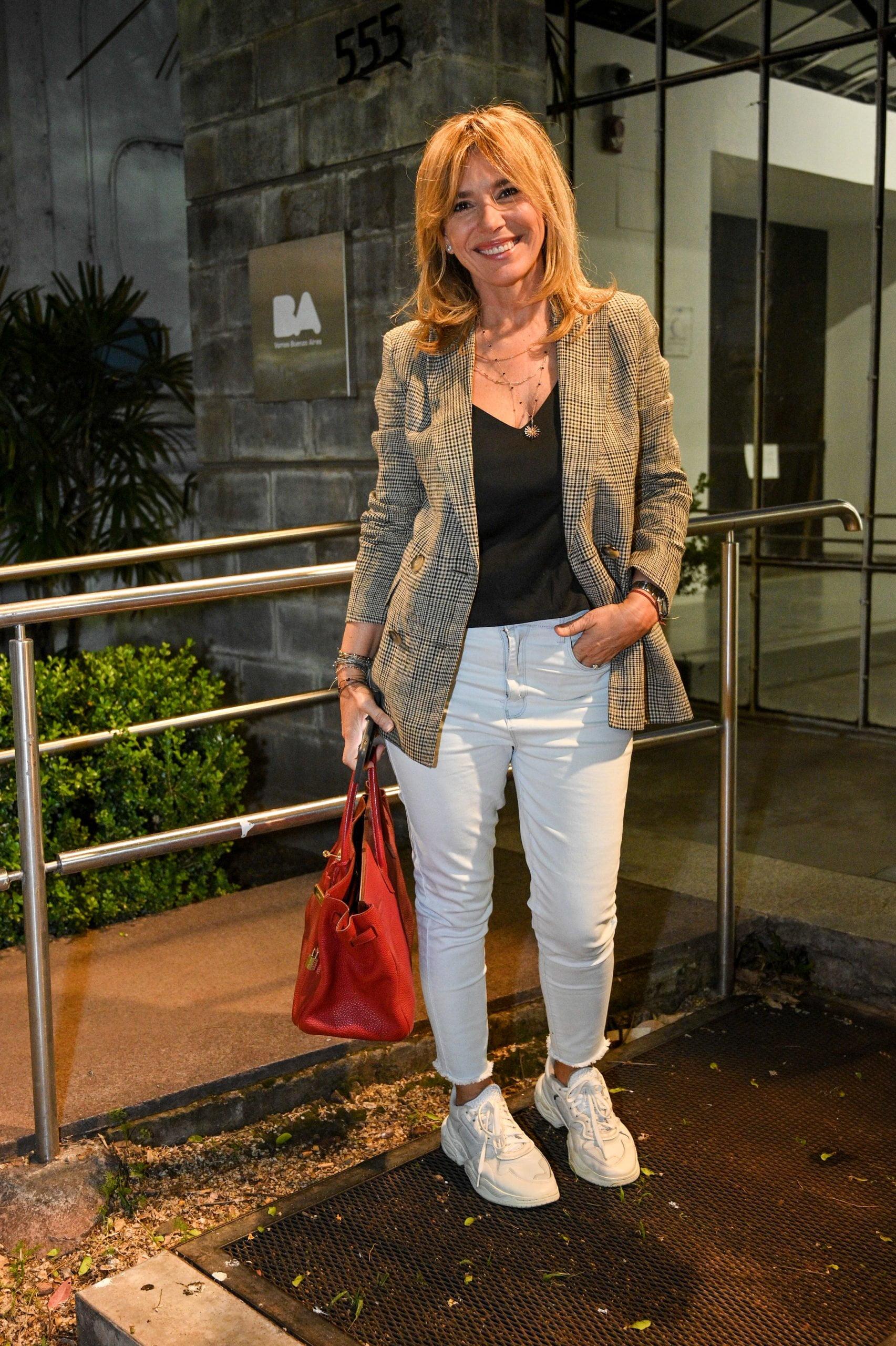 Grace Ratto en la presentación Aires de Buenos Aires