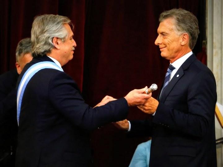 Así Alberto Fernández asumió la Presidencia de Argentina