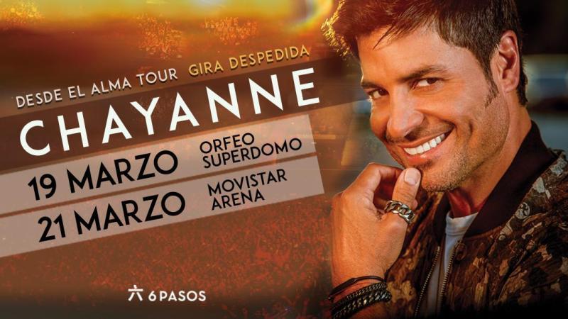 """Chayanne regresa a Buenos Aires en el cierre de su gira """"Desde el Alma"""""""