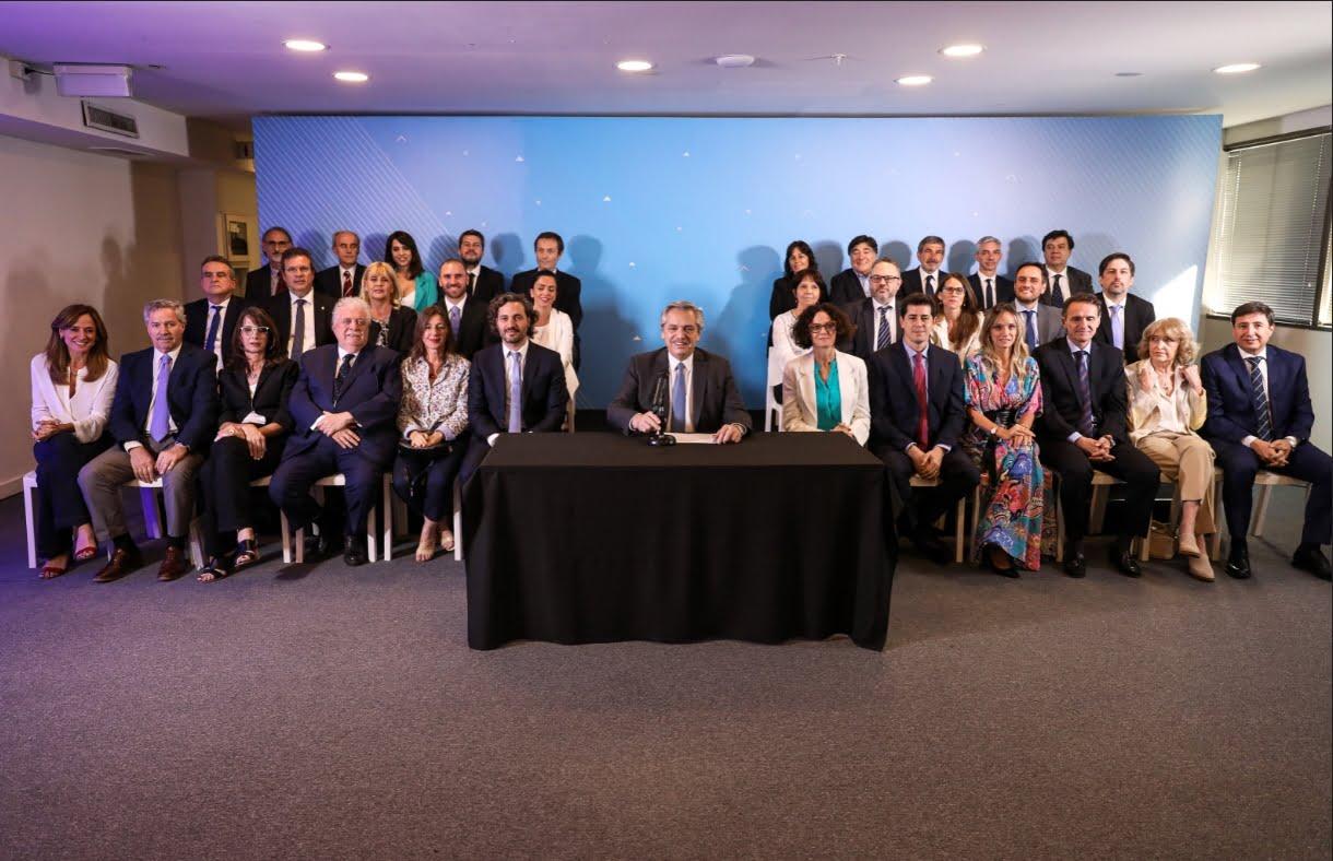 Alberto Fernández presentó el Gabinete Nacional