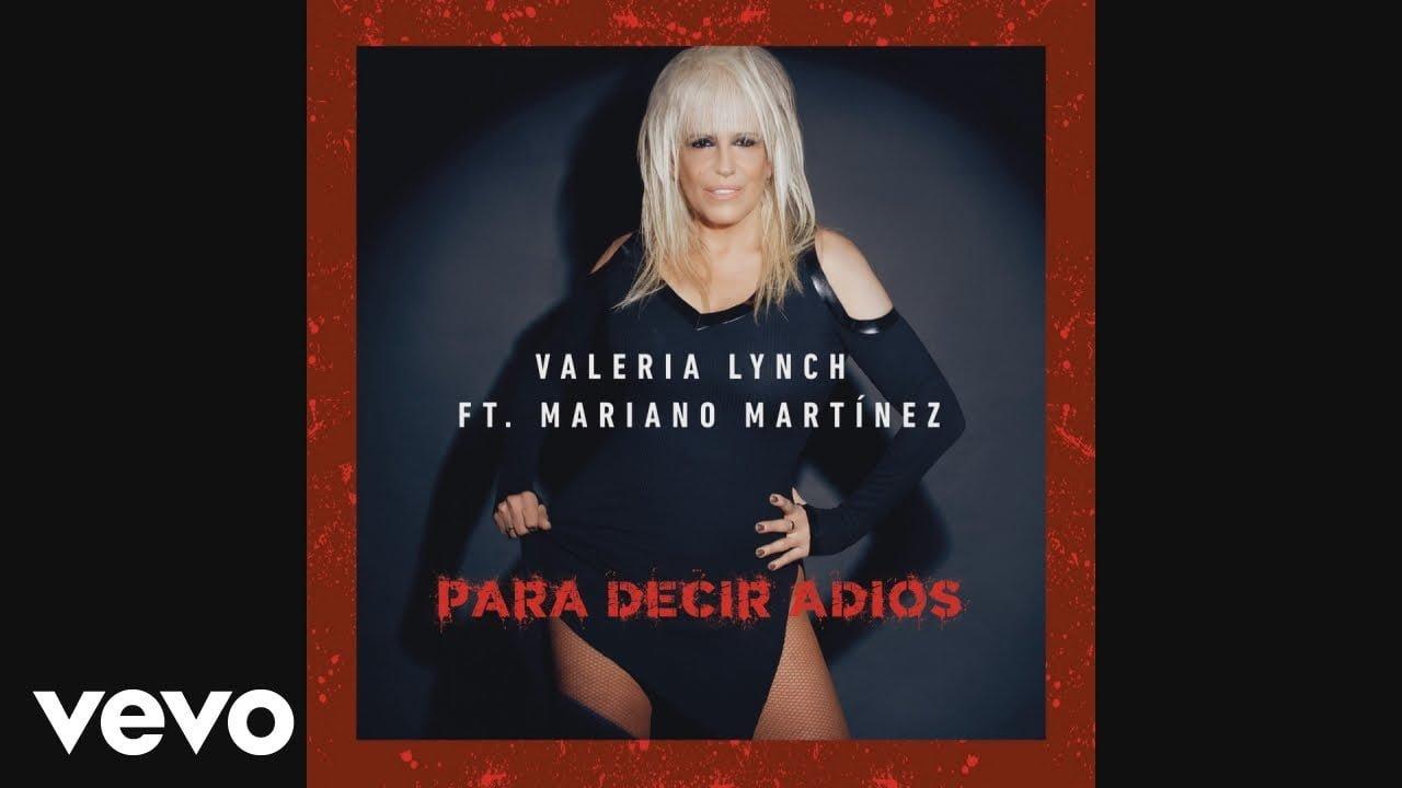 """Valeria Lynch presenta su nuevo álbum """"Para decir adiós"""""""