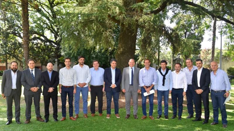 """""""Vamos a trabajar con todos los municipios sin importar el color político"""", sostuvo Berni en una reunión con intendentes de Cambiemos"""