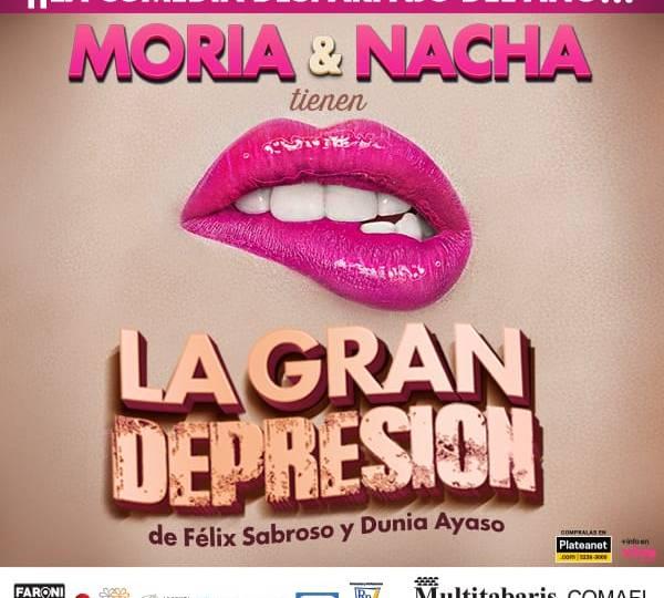 Moria y Nacha por primera vez juntas en el escenario
