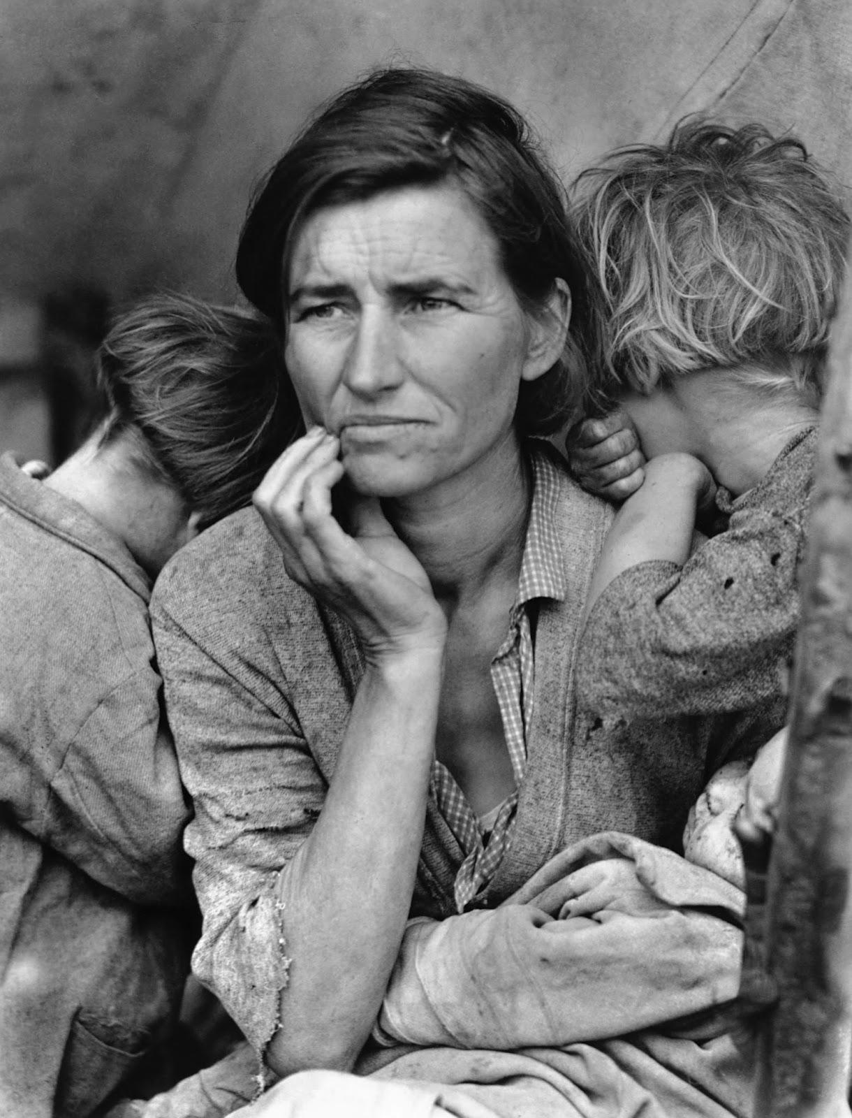 El MoMA rinde homenaje al compromiso social de la fotógrafa Dorothea Lange