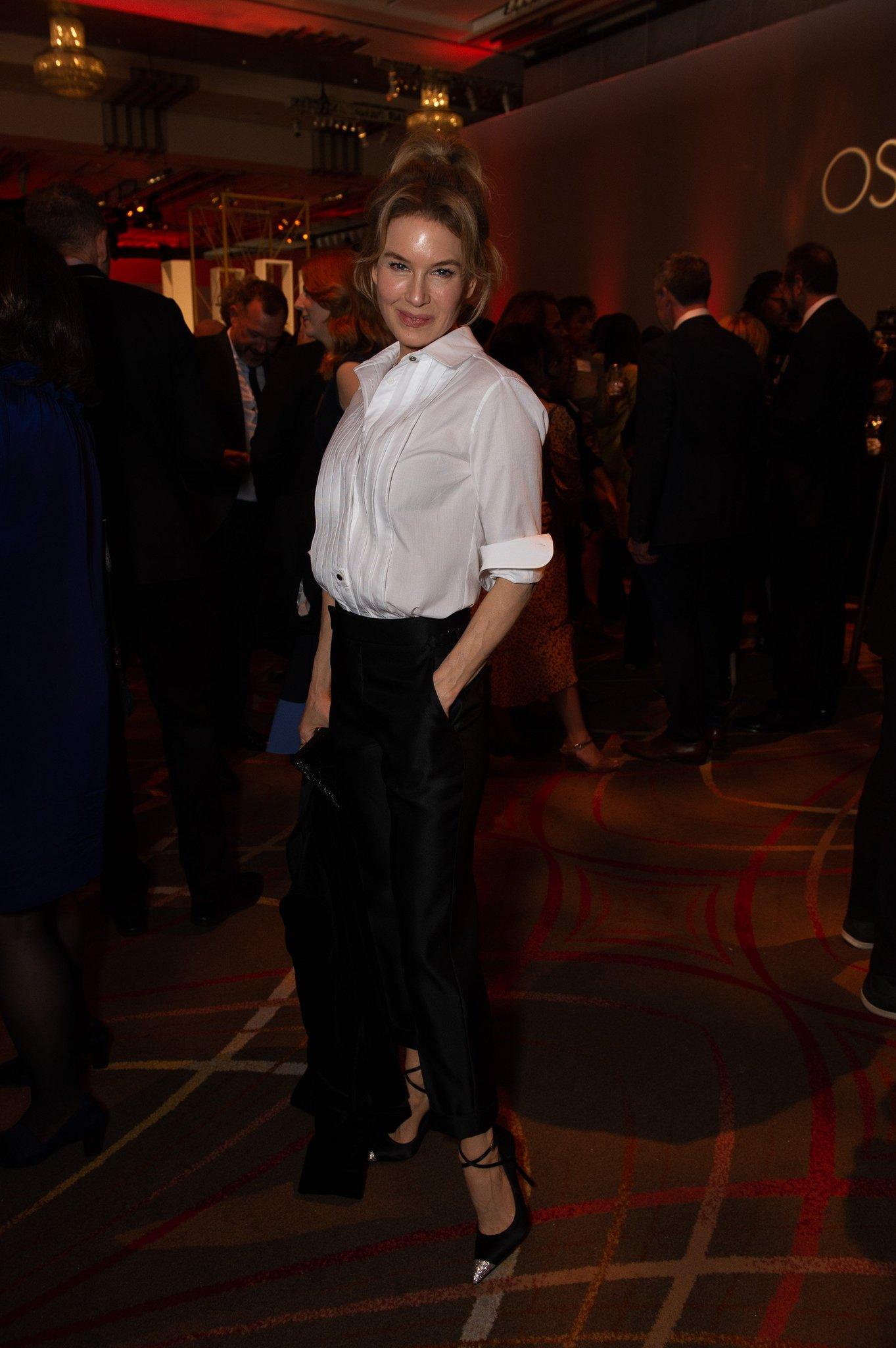 Renee Zellweger en la entrega  de los Premios #Oscars