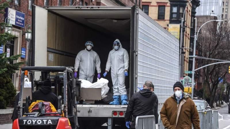El estado de Nueva York eleva a casi 76.000 casos de COVID-19 y 1.500 muertes