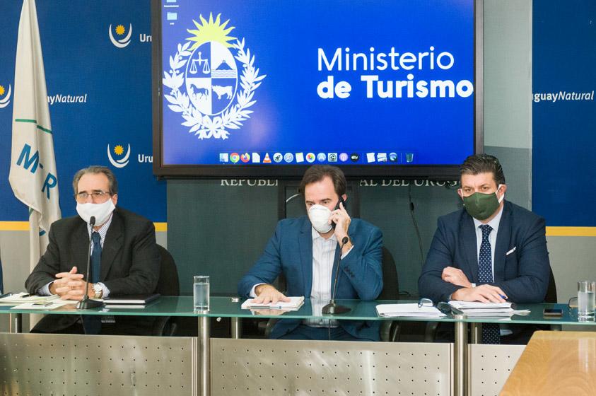 Germán Cardoso, Remo Monzeglio e Ignacio Curbelo