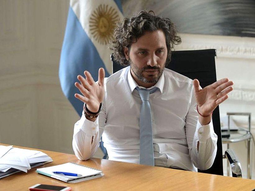 «La oposición tiene que dejar de hacer política barata», advirtió Santiago Cafiero