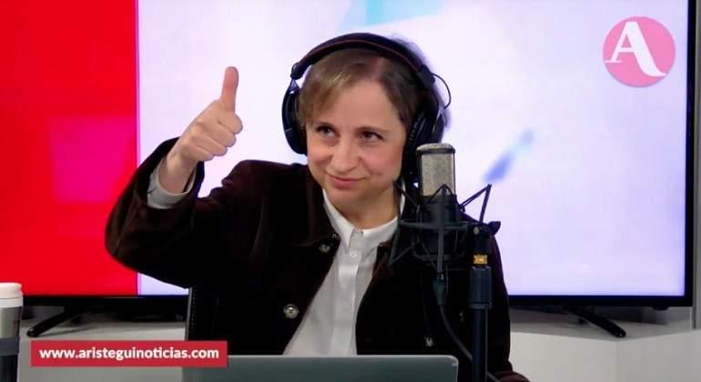 Carmen Aristegui denuncia ataque en redes por su trabajo