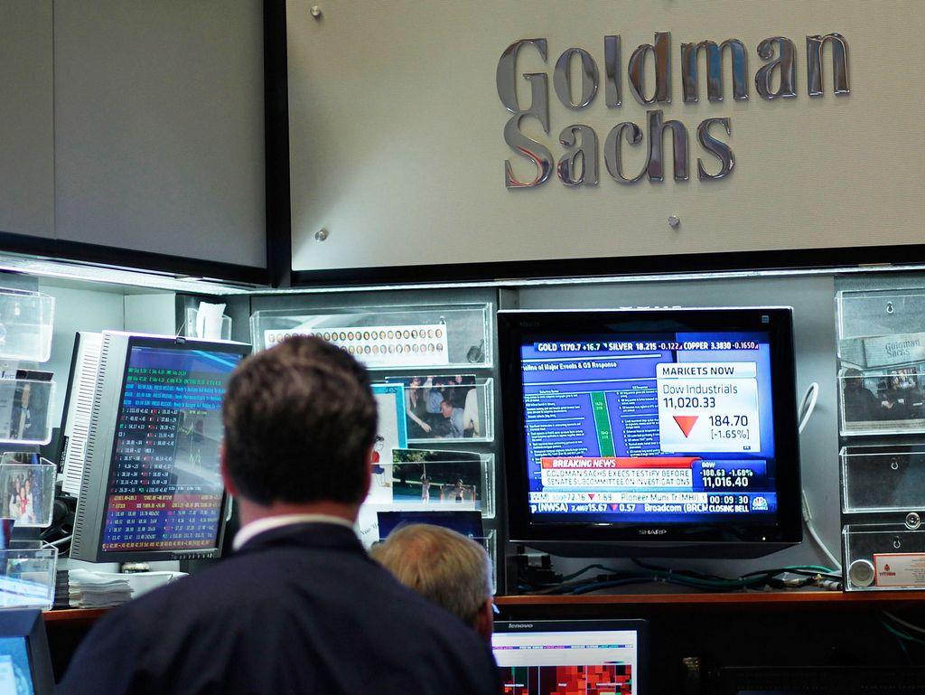Goldman Sachs redujo sus ganancias 23% en el primer semestre por la pandemia