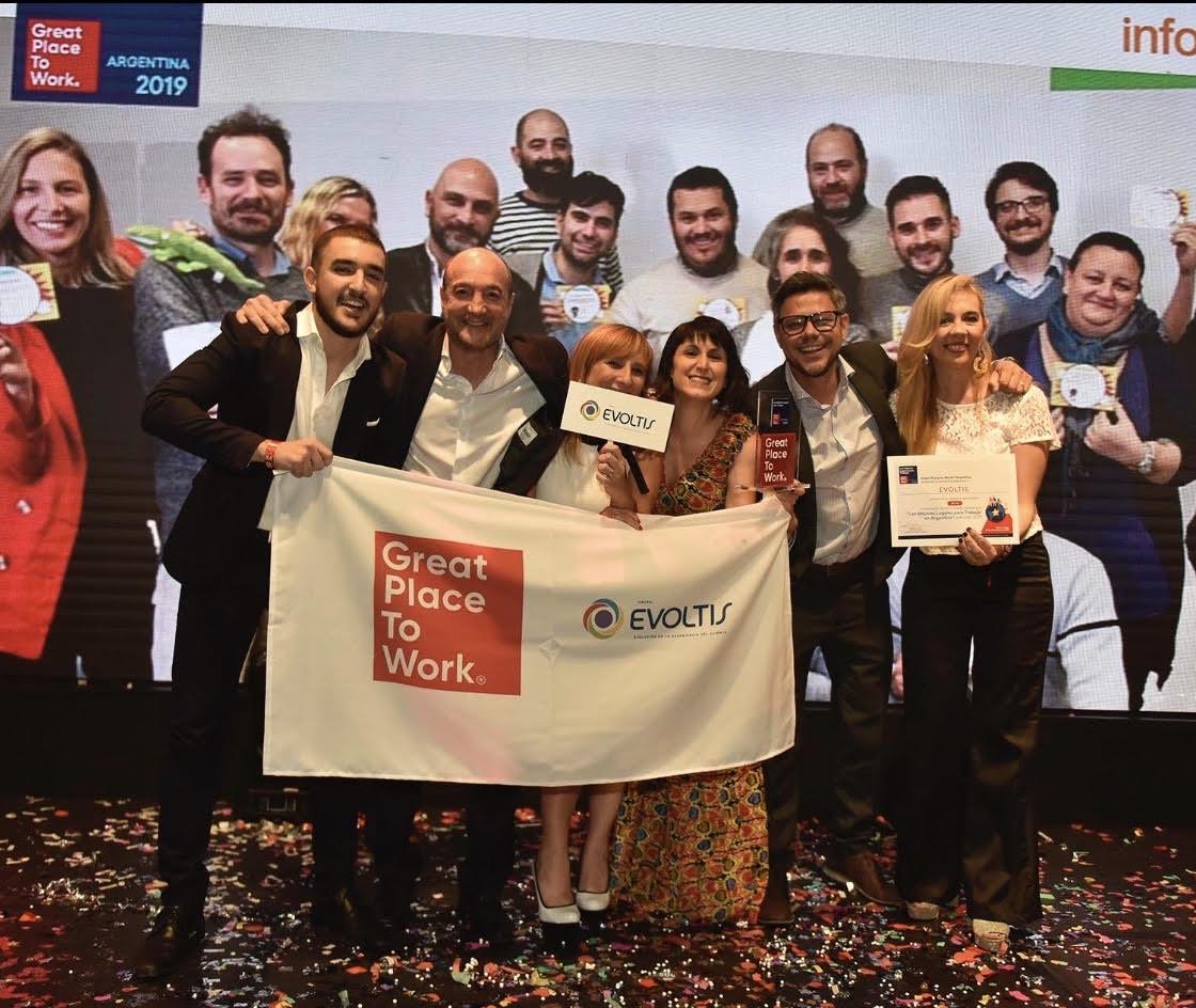 Grupo Evoltis en el ranking de Mejores Empresas para Trabajar en Argentina para Mujeres