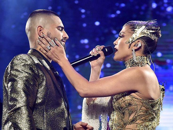 Jennifer López y Maluma preparan música nueva juntos
