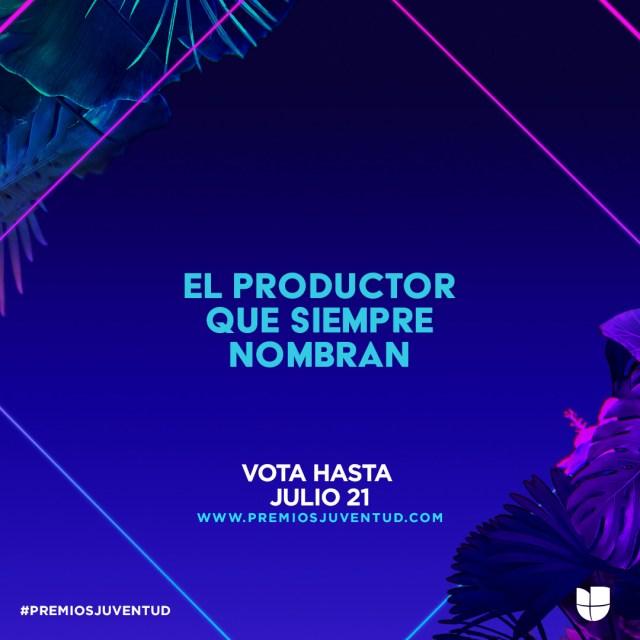 El exitoso productor y artista Ovy on the Drums recibe una nominación a los Premios Juventud