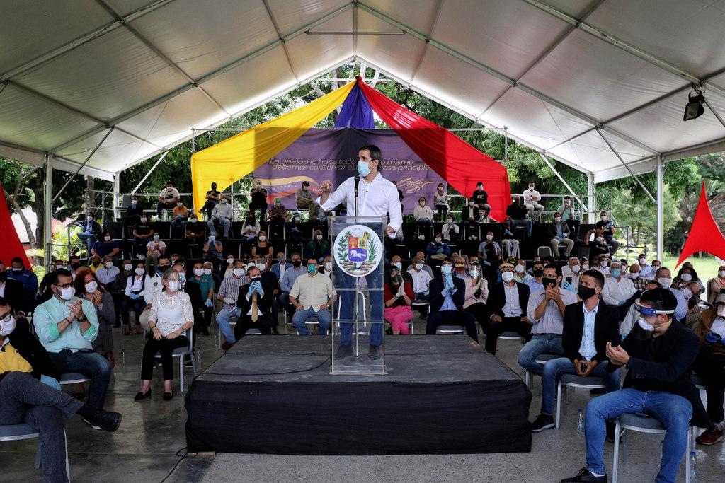 Venezuela: Guaidó llamó a la oposición a unirse en un pacto y no ir a las elecciones de diciembre