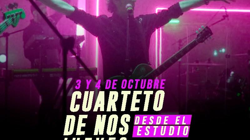 Cuarteto De Nos anuncia Jueves Desde el Estudio, un concierto exclusivo para Argentina