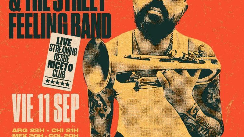 Hugo Lobo y la Street Feeling Band en vivo para todo el mundo