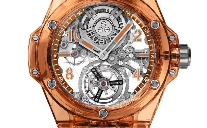 Big Bang Tourbillon Automatic Orange Sapphire