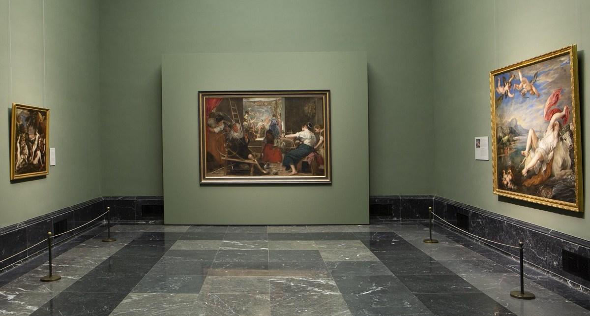 """""""Las hilanderas"""", de Velázquez"""
