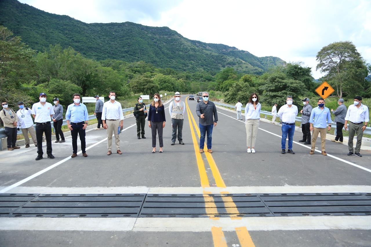 Presidente Duque inauguró Autopista de Cuarta Generación en Honda Tolima 1
