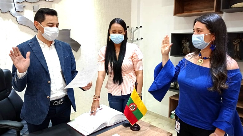 Ibagué tiene nueva Secretaria de Agricultura y Desarrollo Rural. 1
