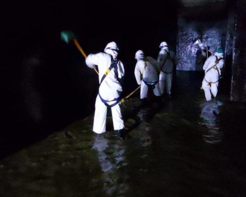 Se restableció el servicio de agua potable en Ibagué. 1