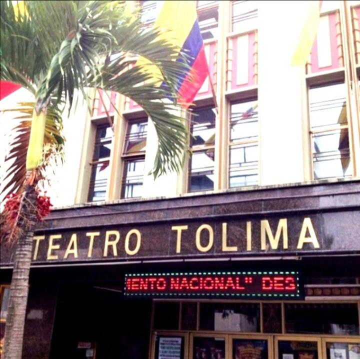 Teatro Tolima abrió sus puertas a las tertulias en vivo. 1