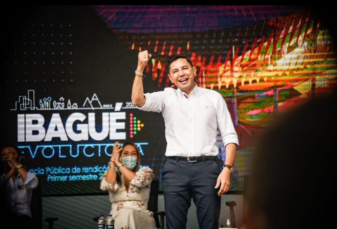 Alcalde Andrés Hurtado rindió cuentas a los ibaguereños. 1
