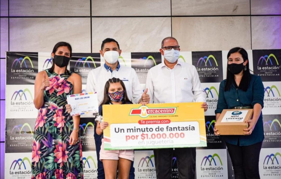 Alcaldía premió a niños ganadores del concurso: 'Ibagué, te canto y te cuento'. 1
