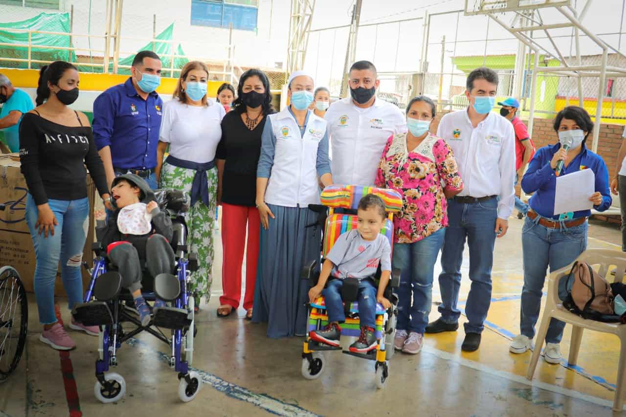 Discapacitados recibieron apoyo de la Gobernación del Tolima. 1