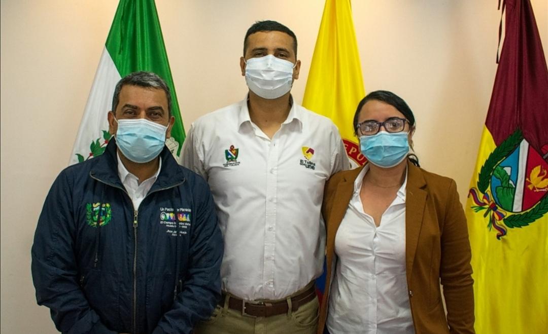 Secretario de Planeación y TIC del Tolima designado como alcalde ad hoc del municipio de Planadas. 1